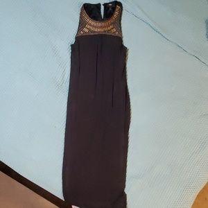 Beaded black dress